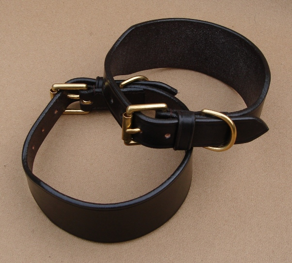 "Lurcher Collar - 1"" Buckle & Dee"